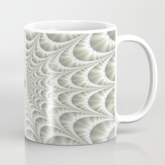 Quilted Web in White Mug