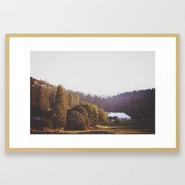 JH Ranch Framed Art Print