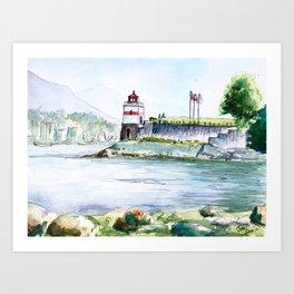 Stanley Park Vancouver Canada Art Print