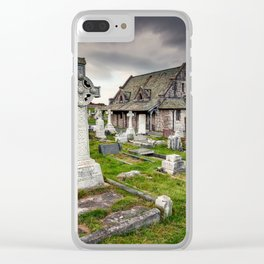 Saint Tudno Llandudno Clear iPhone Case