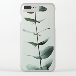 EUCALYPTUS 1 Clear iPhone Case