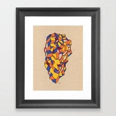 - love - Framed Art Print