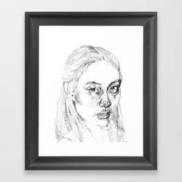 Anew Framed Art Print