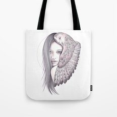 Alone With The Owl Tote Bag
