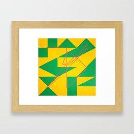 Magic Square #3 (Lo Shu - With Sigil) Framed Art Print