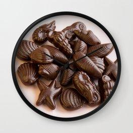 Seashell Chocolates Wall Clock