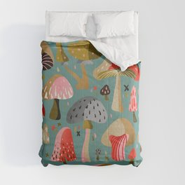 Mushroom Collection – Mint Comforters