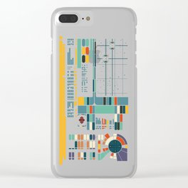 Control Interface Clear iPhone Case