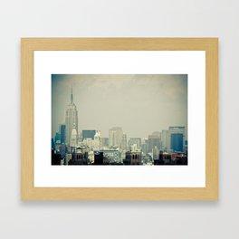 New York: Brooklyn Bridge Framed Art Print