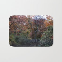 Autumn Scenery Bath Mat