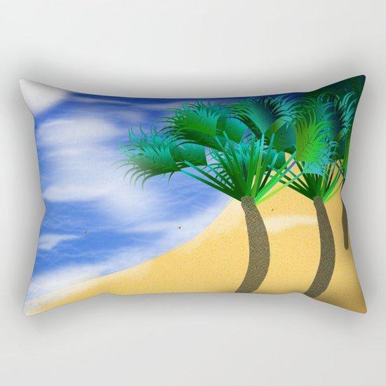 Beach Reverie Rectangular Pillow
