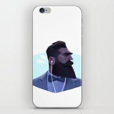 Manly Man iPhone Skin