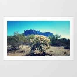 Superstition Mountains 2 Art Print