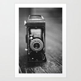 Old Kodak Film Camera Art Print