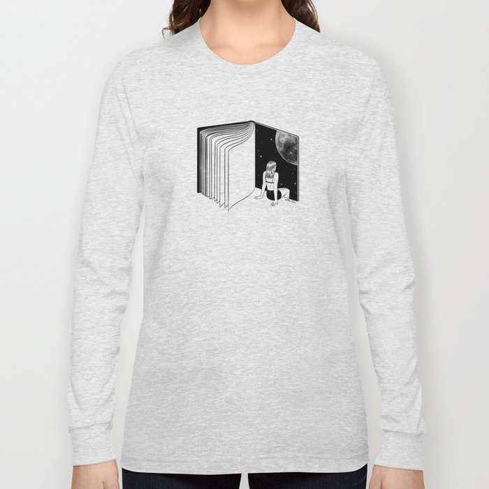 Reading is Dreaming with Your Eyes Open Long Sleeve T-shirt