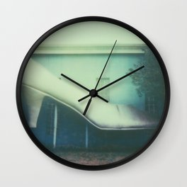 Glass Slipper Wall Clock
