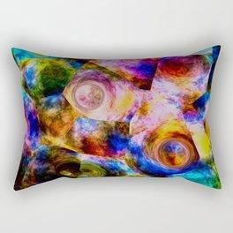 Bottle Buttom Rectangular Pillow