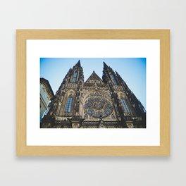 Prague Cathedral Framed Art Print