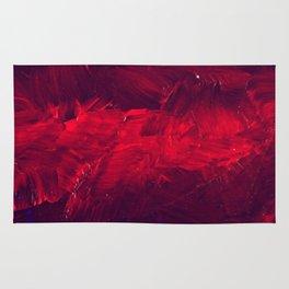 Modern Art - Dark Red Throw Pillow - Jeff Koons Inspired - Postmodernism Rug