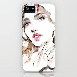 Beauty Portrait 19/2018 iPhone Case