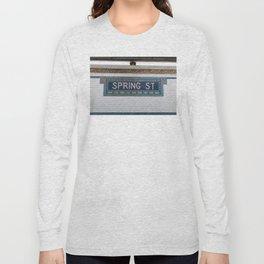 Spring Street Subway Long Sleeve T-shirt