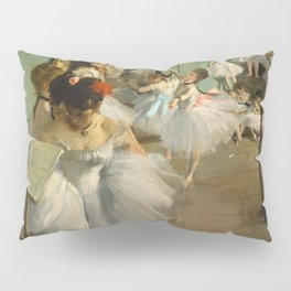 "Edgar Degas ""The dance class"" Pillow Sham"
