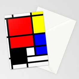 Mondrianista Stationery Cards