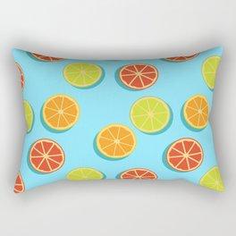 Summer insta fruits Rectangular Pillow