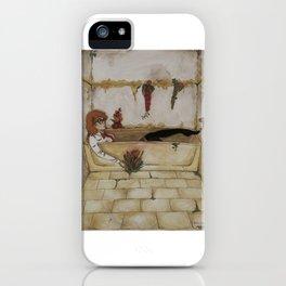 A Modern Ophelia iPhone Case