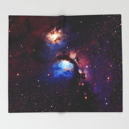 M 78 Nebula Throw Blanket