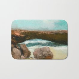 Aruba Natural Bridge Bath Mat