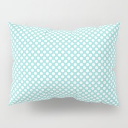 Limpet Shell and White Polka Dots Pillow Sham