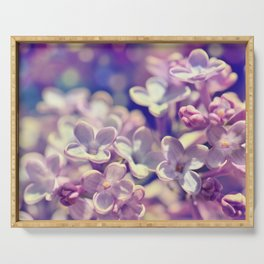 Spring 301 lilac Serving Tray