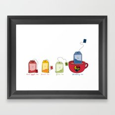 tea Framed Art Print