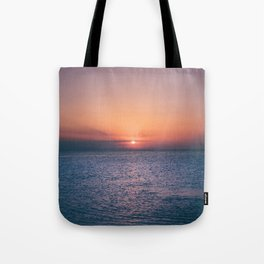 Beach Sunset // Landscape Photography Tote Bag
