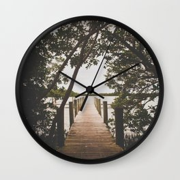 Vintage Beauty Wall Clock