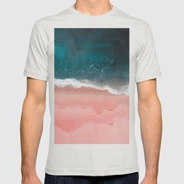 Turquoise Sea Pastel Beach III T-shirt