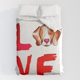 Love Beagles Comforters