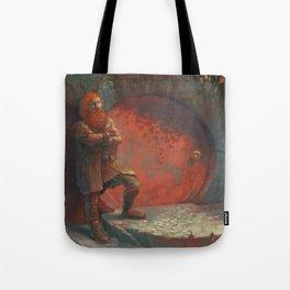 Berned Tote Bag