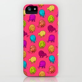 Hungry Kiwis – Juicy Palette iPhone Case