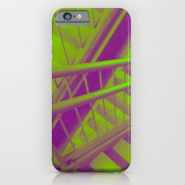 Indecisive, green iPhone Case