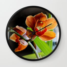 Cinnamon Iced T Wall Clock