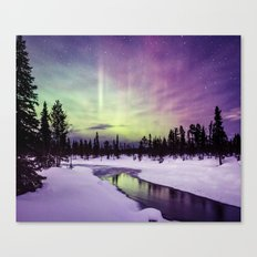 The Northern Lights Canvas Print