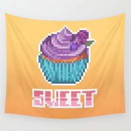 Berry Cupcake Wall Tapestry