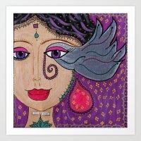 Deva - Shine Art Print