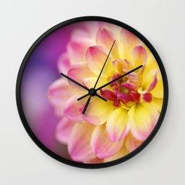 A Splash Of Happy Wall Clock