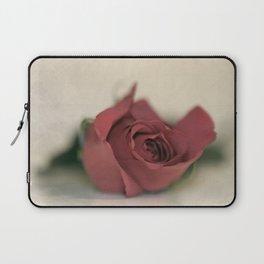 Single Rose fine art photography Laptop Sleeve