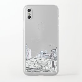 Venice . city on the water . Art Clear iPhone Case