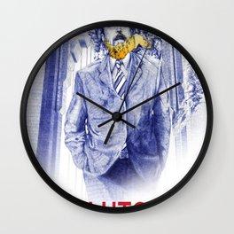 Clutch San Francisco Poster Wall Clock