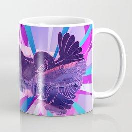 Stardust Owl Crystal Flare Coffee Mug